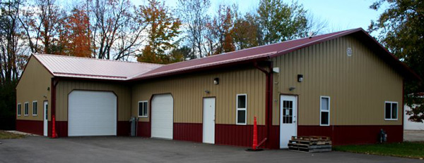 Specialty building built by CS Construction Services